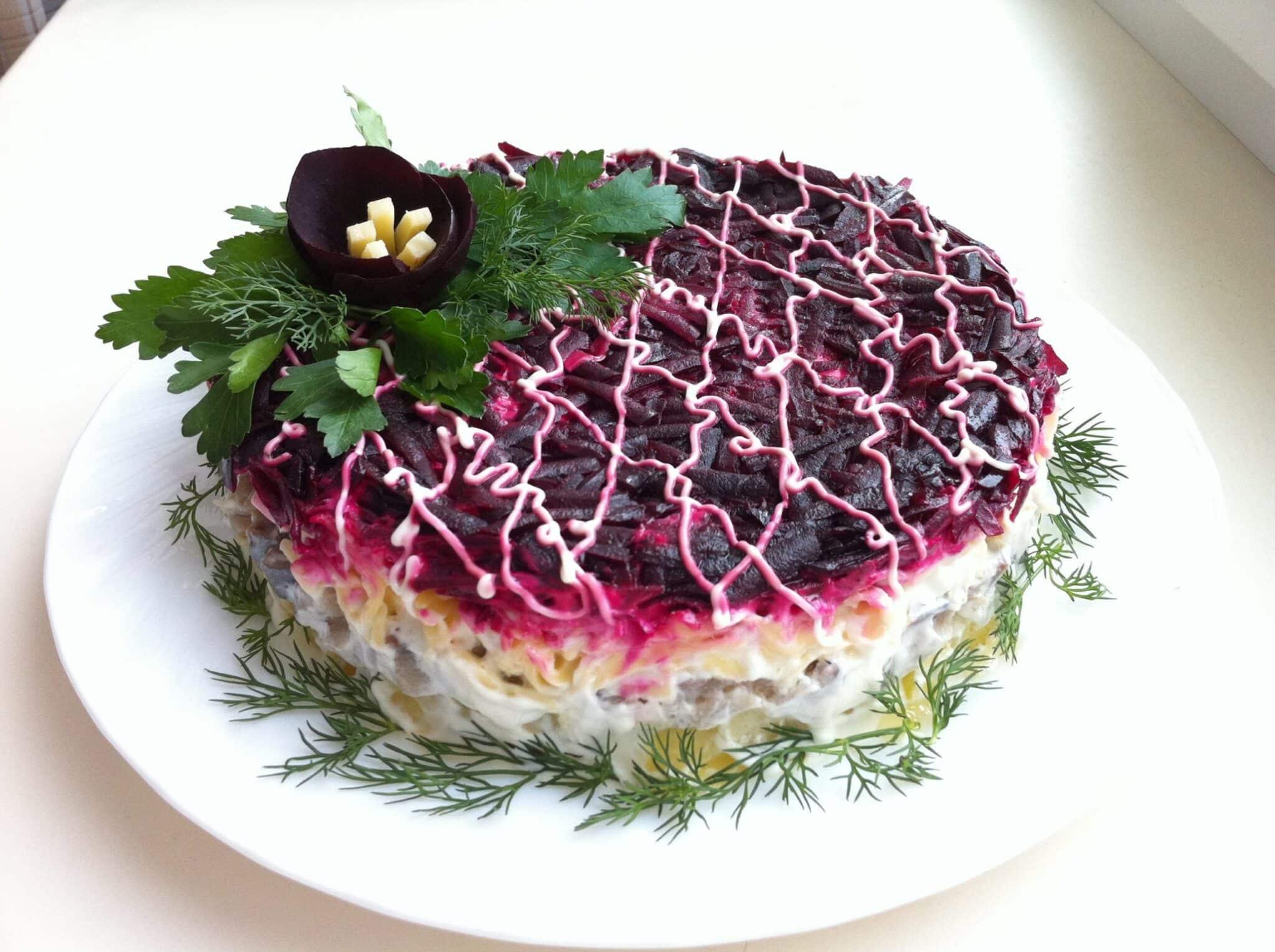 красивый салат рецепт с фото этой