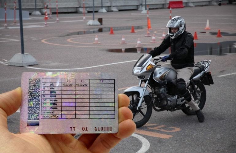 На вождение какими мотоциклами в 2020 году обязательно наличие водительских прав