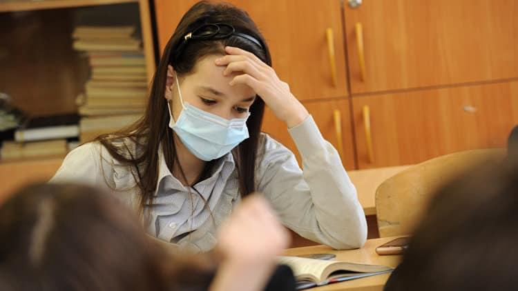 В школах России отменяют занятия из-за пневмонии