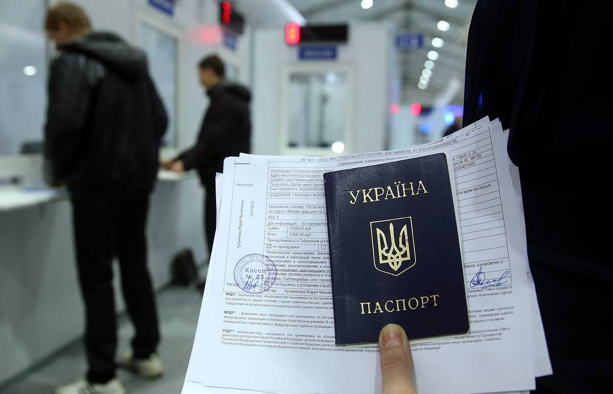По данным МВД, временное убежище в России имеют сорок тысяч украинцев