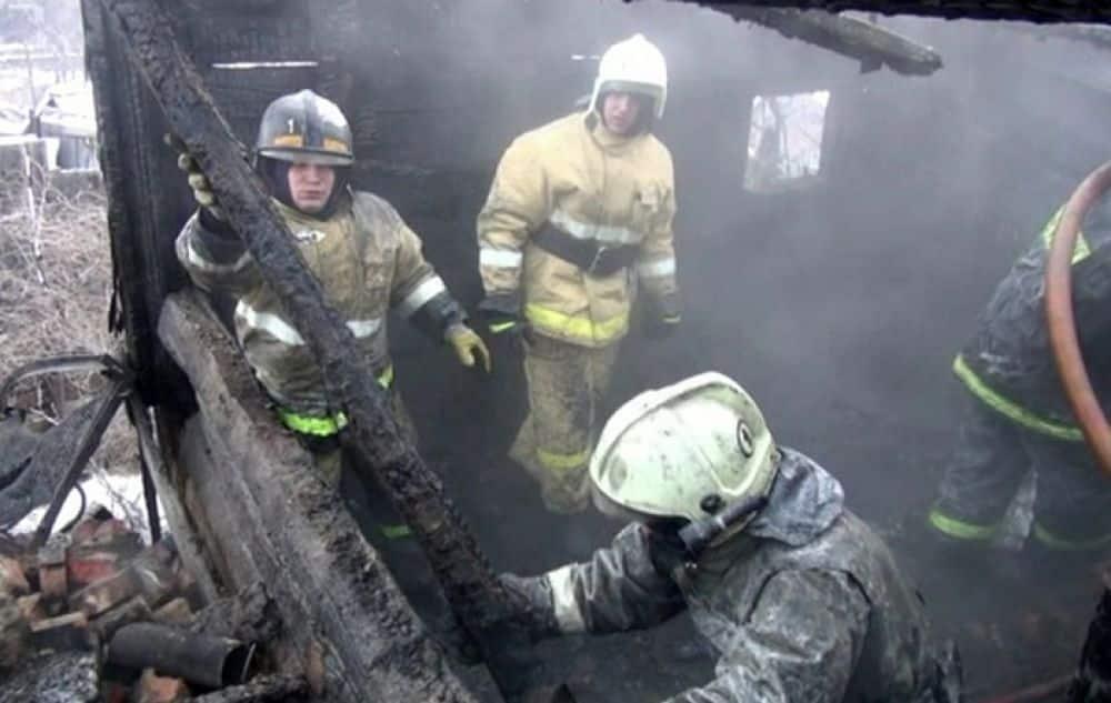 Четверо бездомных в Улан-Удэ сгорели заживо