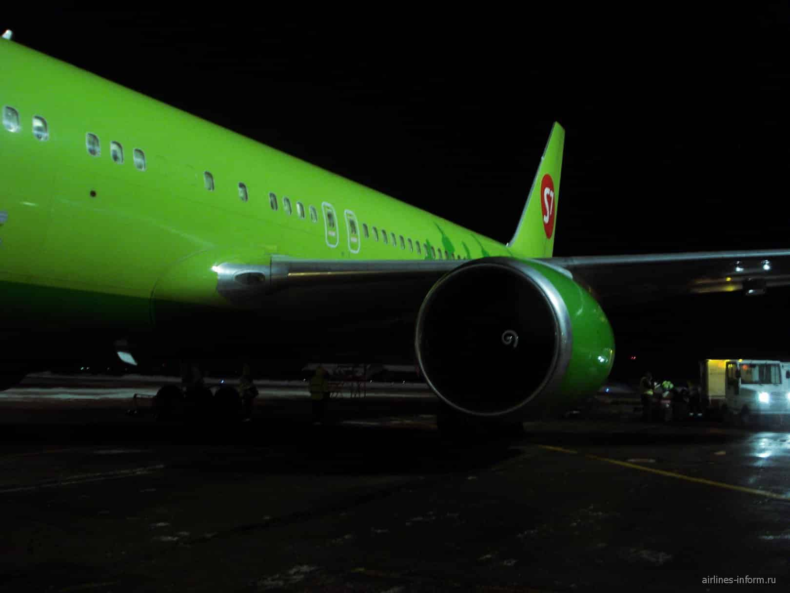 Аварийная посадка российского самолёта вылетевшего из Новосибирска