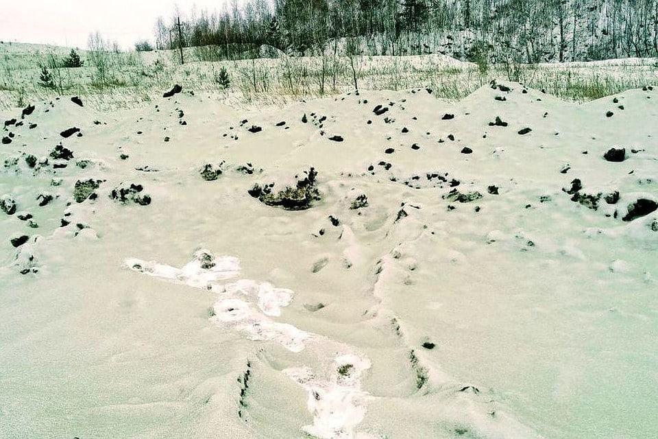 Зеленый снег пошел в Челябинске