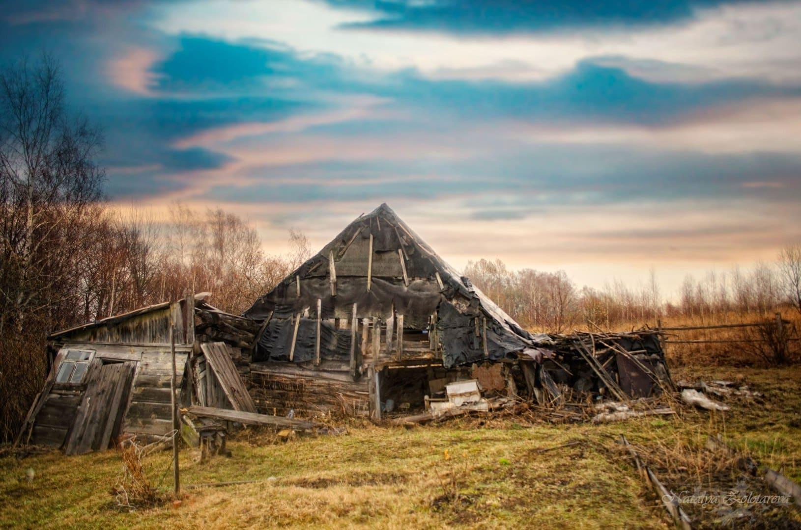фото разрушенных домов в деревне говорю тех, кто