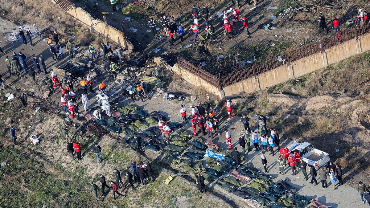 Последние новости об авиакатастрофе украинского авиалайнера в Тегеране