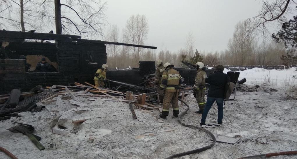 Пострадавшим от пожара в Томской области выделили по 50 тысяч рублей