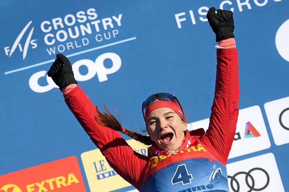 Российская лыжница получила серебро на Кубке мира