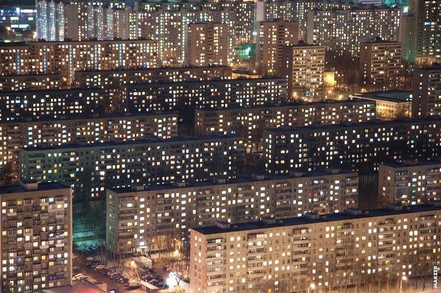 В каких районах хотят жить москвичи