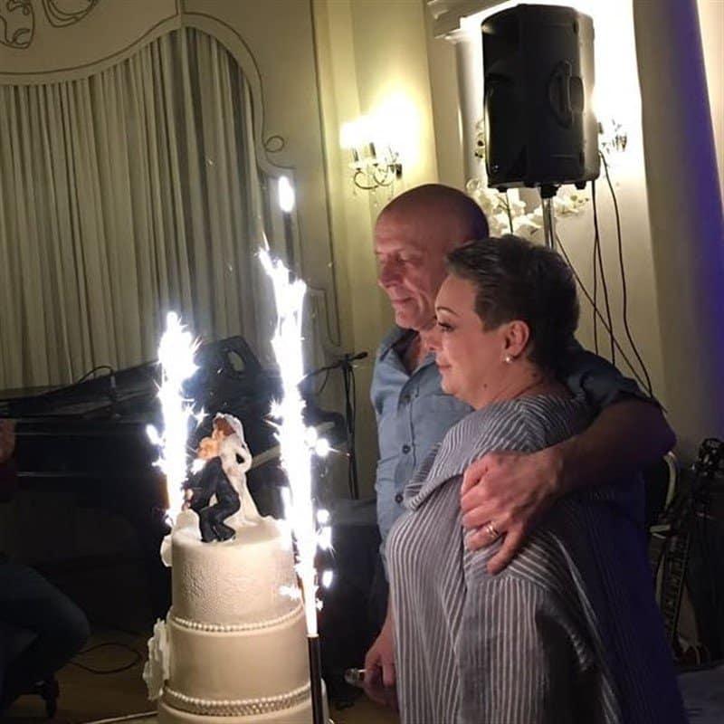 Свадьба Марии Ароновой после 20 лет гражданского брака