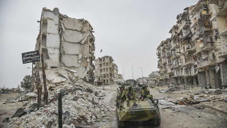 Российские бойцы погибли в Сирии