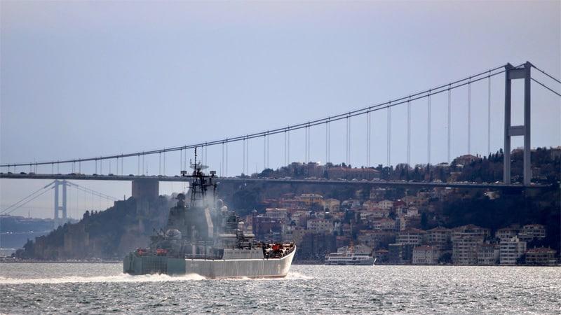 Турция закрыла воздушное пространство, может ли закрыть Босфор для российских кораблей?