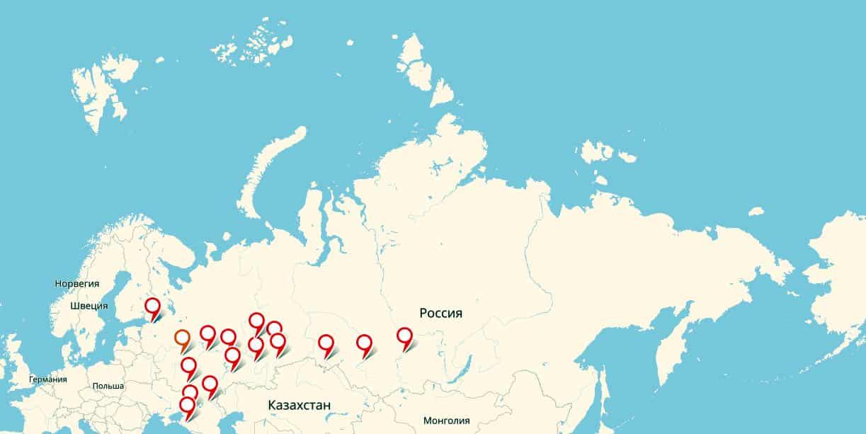 Российские города-миллионники: сколько их в 2020 году, полный список