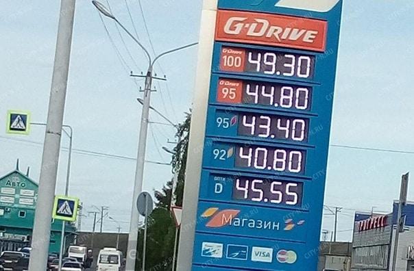 В России цена на бензин одна из самых низких в Европе