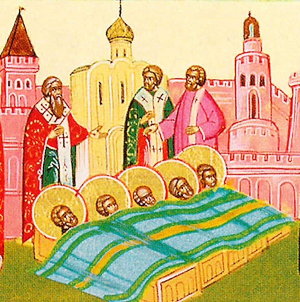 Какой церковный праздник сегодня 7 марта 2021 чтят православные: Празднование в честь обретения мощей мучеников отмечают 7.03.2021
