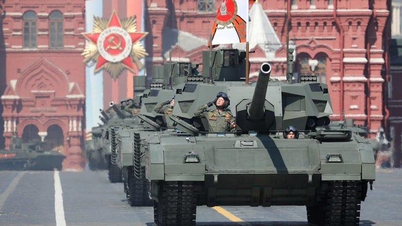 Репетиции парада Победы начнутся с 8 июня, сообщили в Минобороны