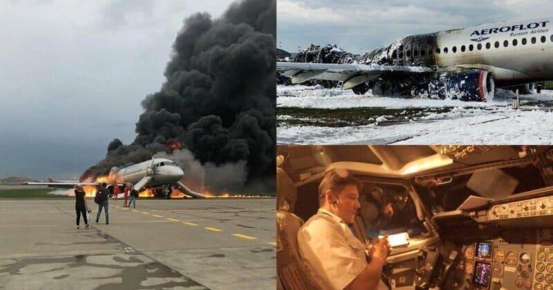 Пилот самолёта SSJ100 сгоревшего в мае в Шереметьево, рассказал о причинах крушения