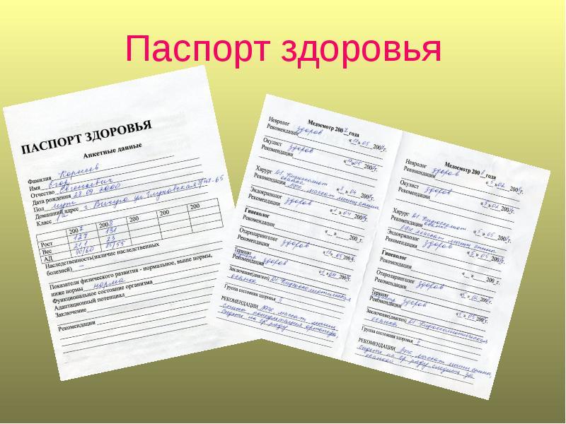 Как в России оформить паспорт здоровья для поездки за границу?