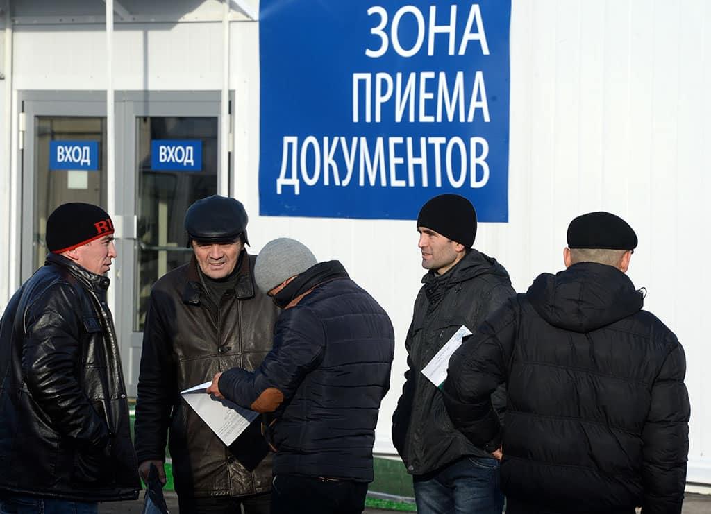 В России планируют ввести цифровой учет мигрантов