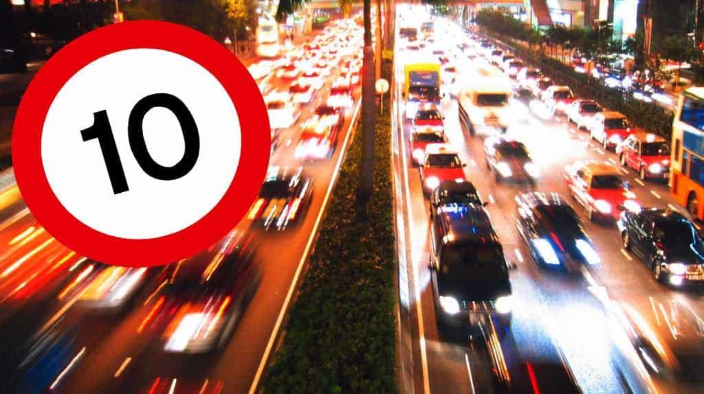В России отменят нештрафуемое превышение скорости в 20 км/час