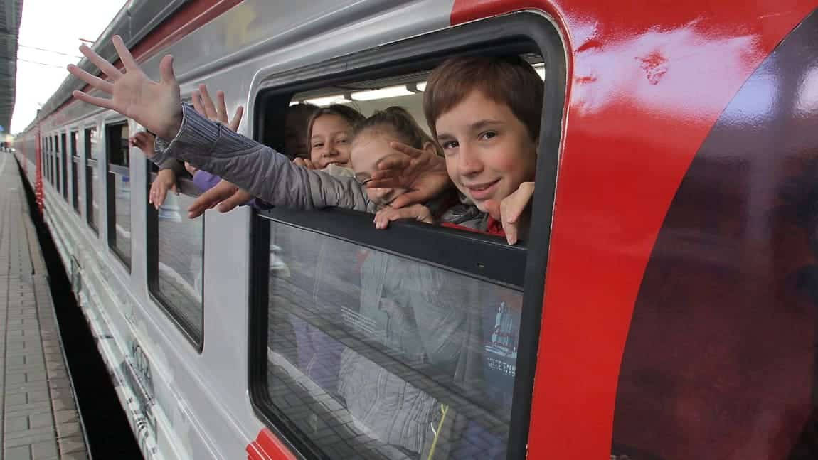 О скидках на детские билеты до 17 лет, рассказали в РЖД