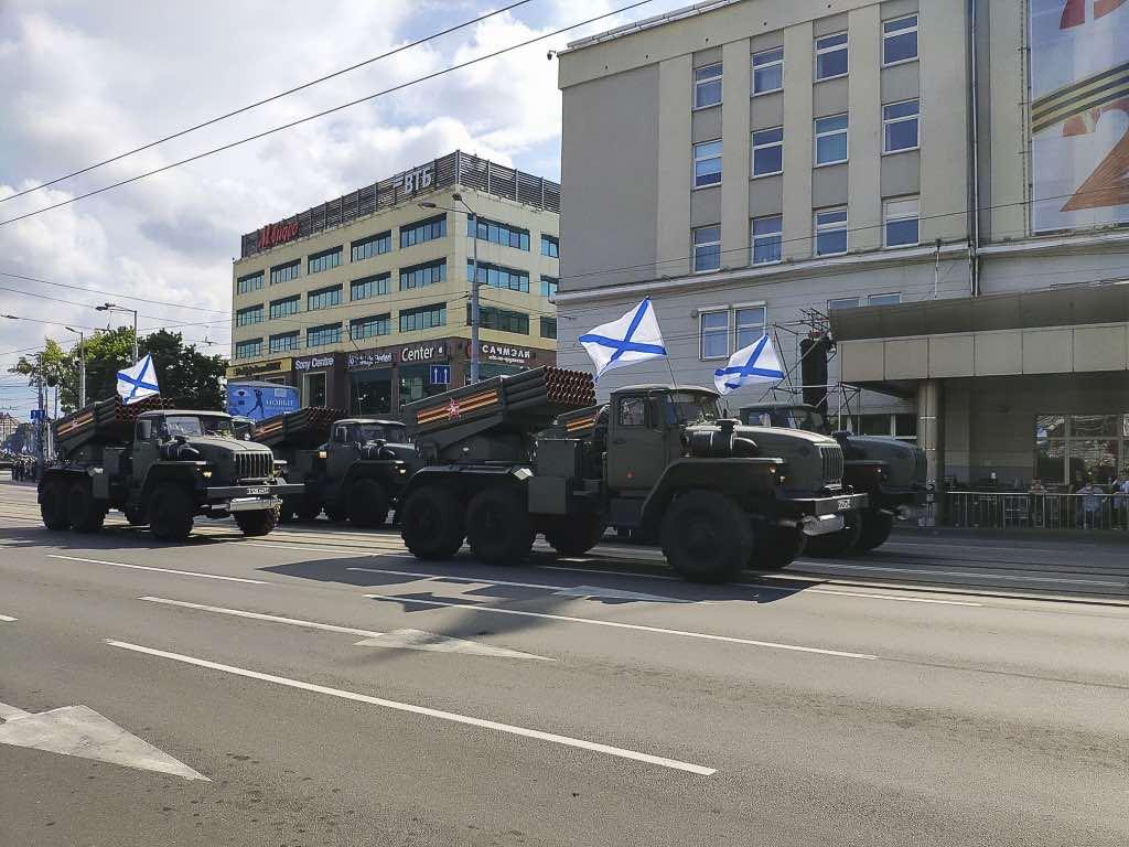 На параде Победы 24 июня пройдёт историческая и современная военная техника