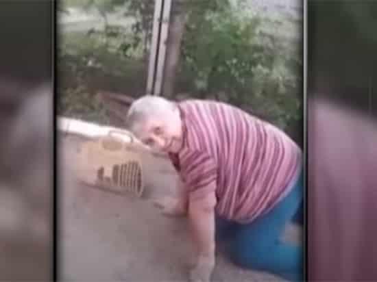 Пенсионерка добиралась до магазина ползком: видео с пожилой женщиной попало в сеть, что произошло в Пермском крае