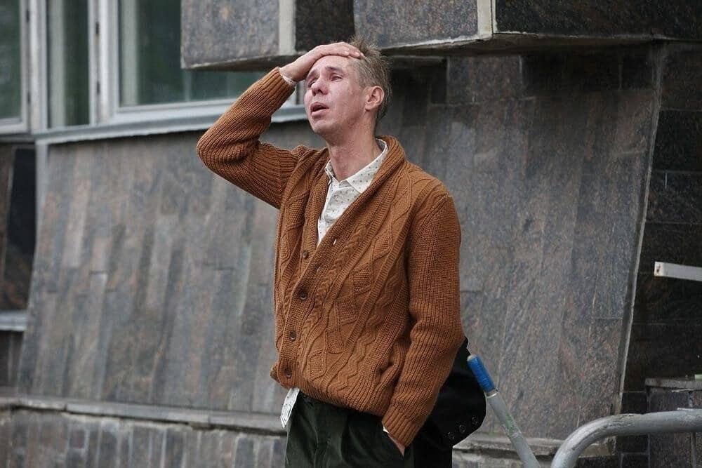 Выходки Алексея Панина на церемонии прощания с Михаилом Кокшеновым