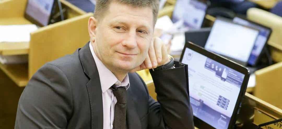Губернатору Хабаровского края предъявлено обвинение в крупных убийствах