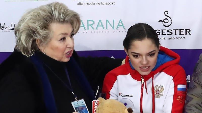 Евгения Медведева после перерыва возобновила тренировки с Татьяной Тарасовой