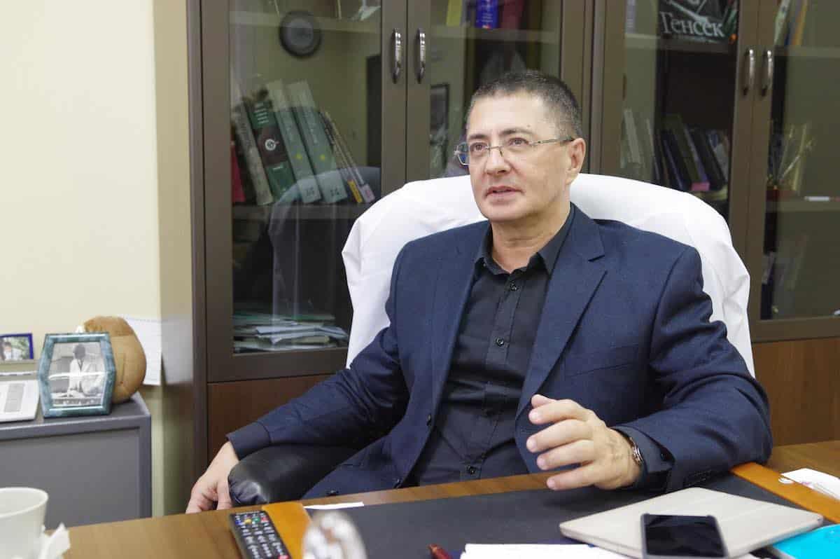 Работа доктора Мясникова в правительственной больнице