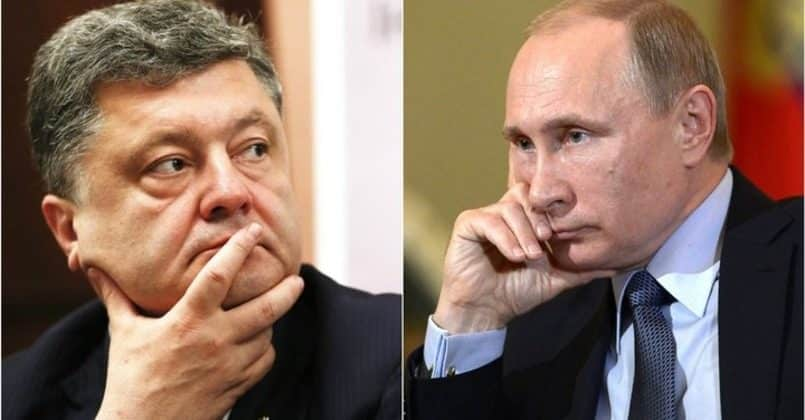 Запись дружественного телефонного разговора Путина и Порошенко появилась в СМИ