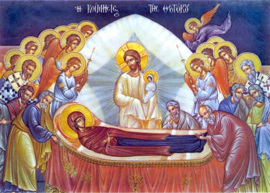 Успение Пресвятой Богородицы 28 августа по церковному календарю