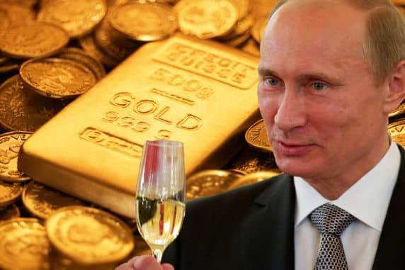 Как Россия получила выгоду, сделав ставку на золото