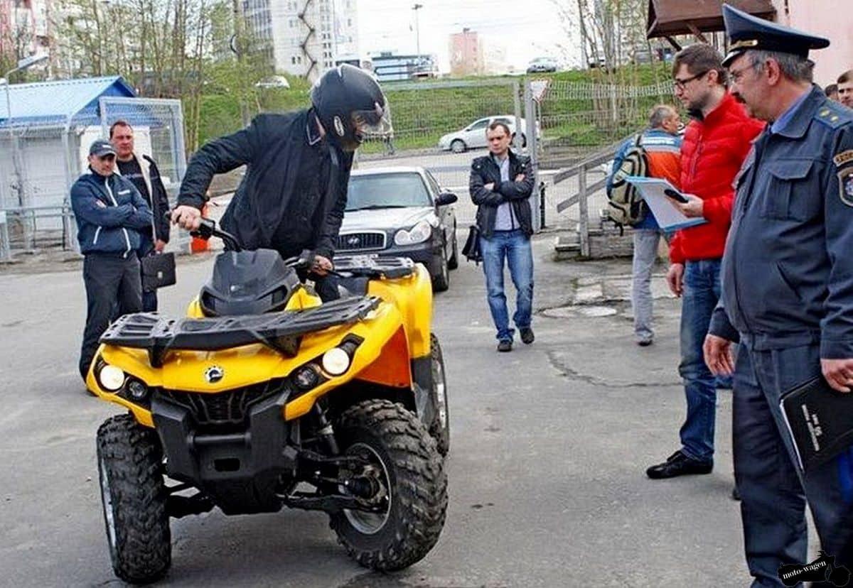 Квадроциклы набирают популярность на дорогах России