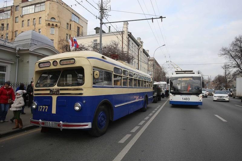 В Москве все троллейбусы заменены на электробусы