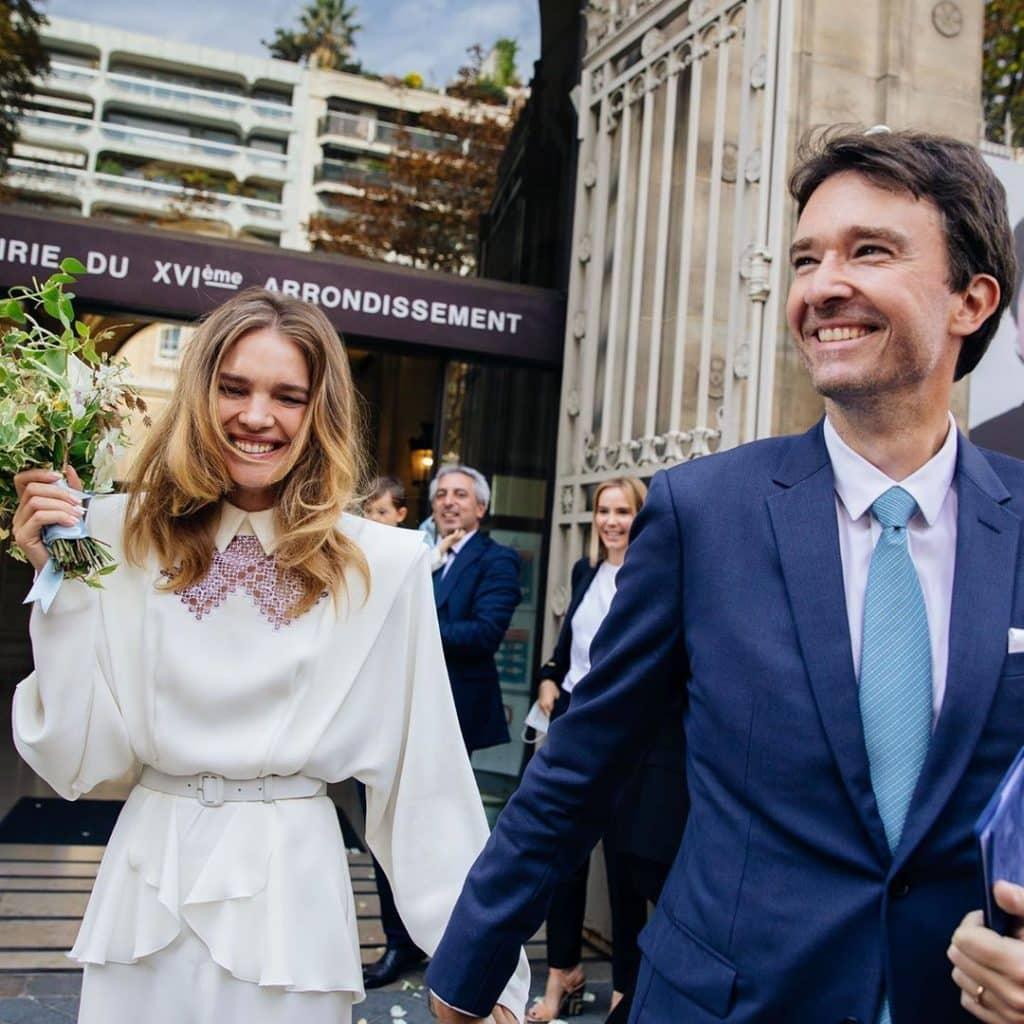 Самая известная российская модель Наталья Водянова стала официально замужней