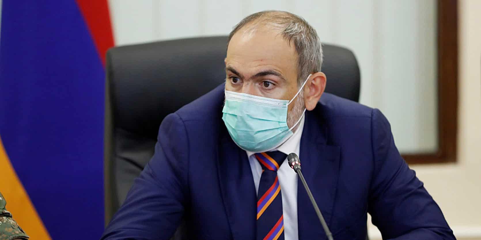 Путин провел переговоры с премьер-министром Армении о ситуации в Нагорном Карабахе