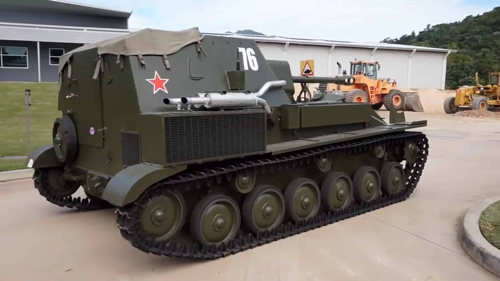 СУ-76 называют братской могилой времен ВОВ: откуда такое название?