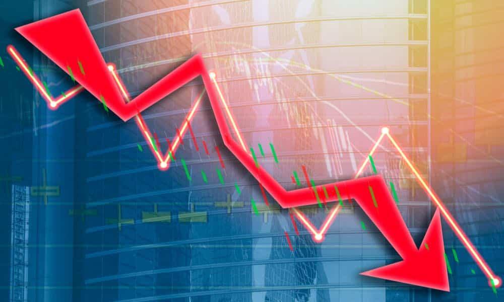 Падение акций за один день стало рекордным в истории США