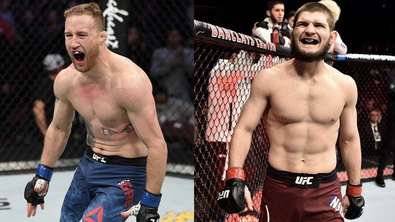Стала известна дата боя Хабиба Нурмагомедова и Джастина Гэтжи в рамках турнира UFC