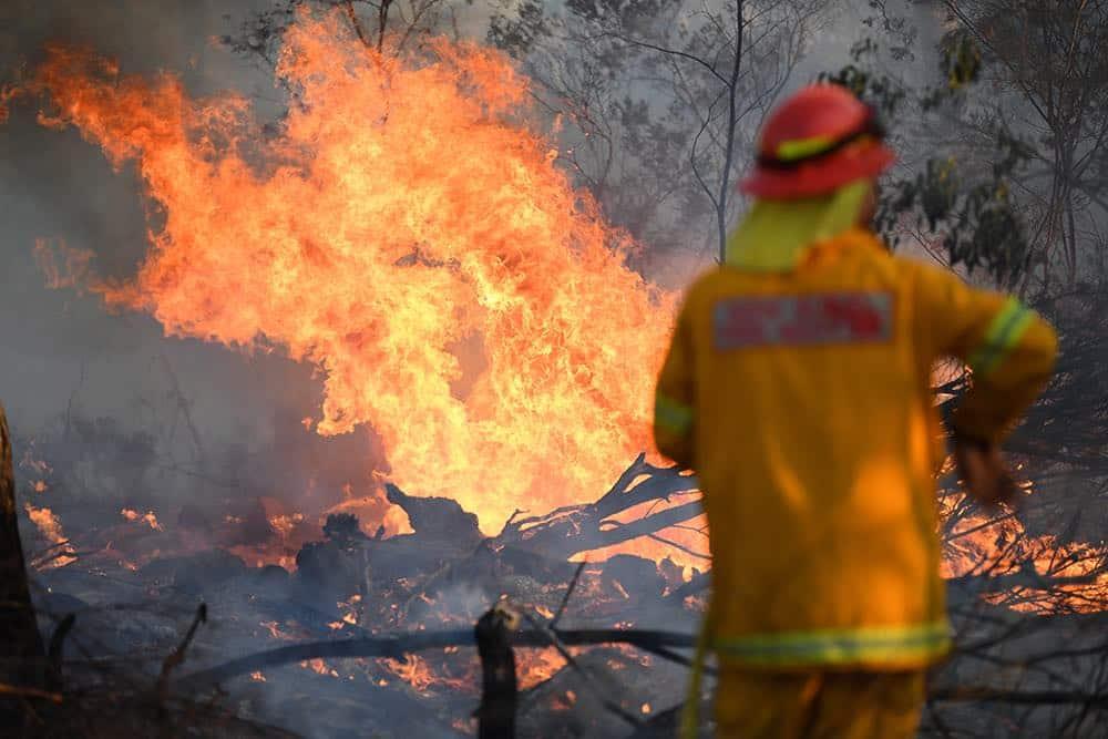 Лесные пожары вынудили американцев победить страх перед коронавирусом и эвакуироваться в стихийные лагеря