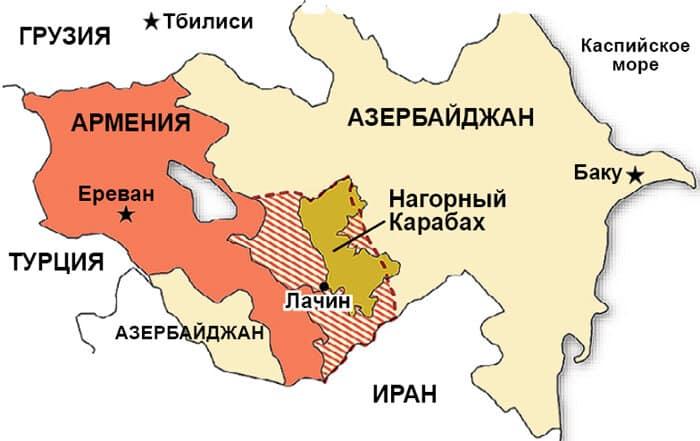 Кому раньше принадлежал Нагорный Карабах, и кто в нем сейчас живет