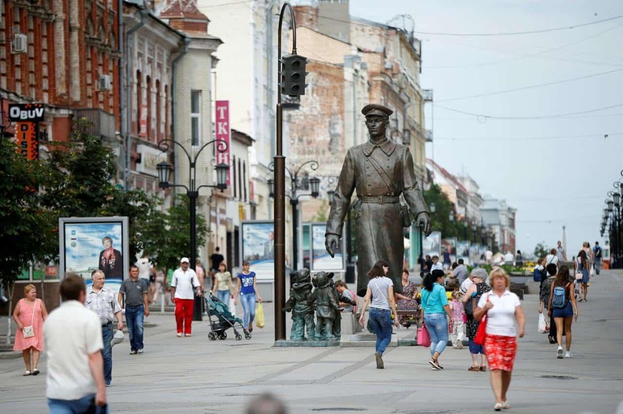 Население России увеличилось со времён распада СССР