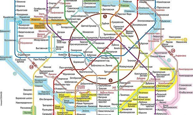 Новые станции метро появится в Москве в 2021 году