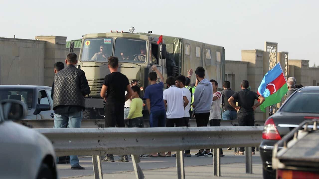 Власти Нагорного Карабаха призвали людей укрыться в бомбоубежищах