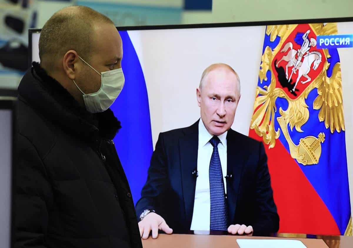 Россияне ждут нового обращения Путина и жестких ограничительных мер
