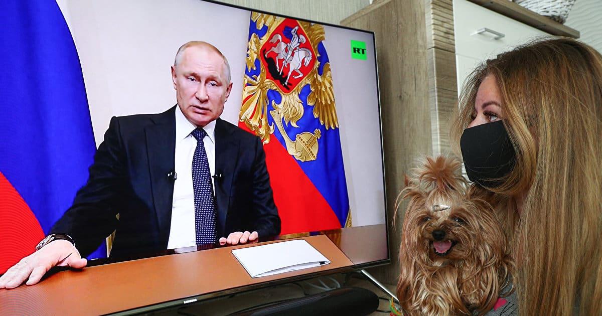 Песков заявил что президент не планирует обращение к Россиянам из-за коронавируса в ближайшее время