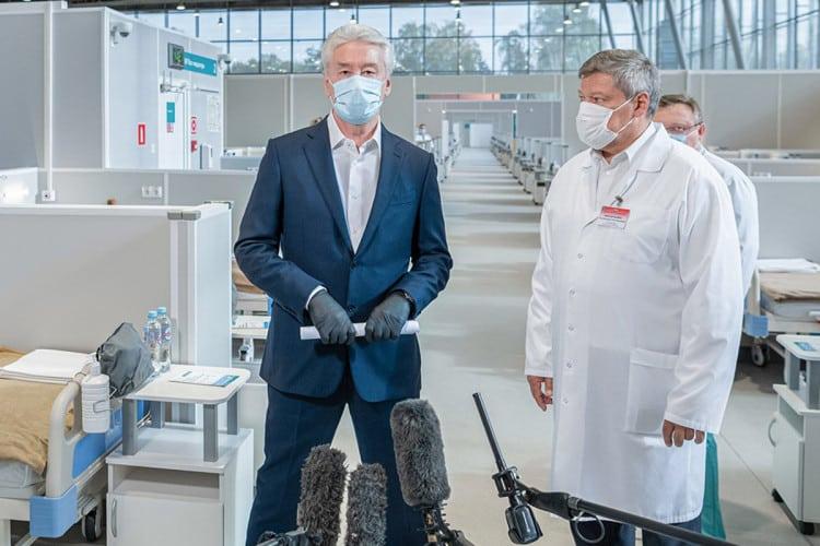 Собянин рассказал о мерах по борьбе с коронавирусом планируемым в ближайшее время