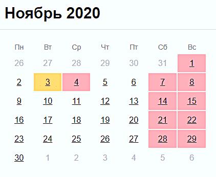 Будут ли отдыхать россияне 4 ноября 2020 года