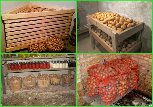 Как хранить зимой картошку на балконе, чтобы она не замерзла и не испортилась